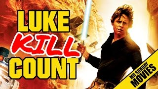 LUKE SKYWALKER Movie Kill Count Supercut