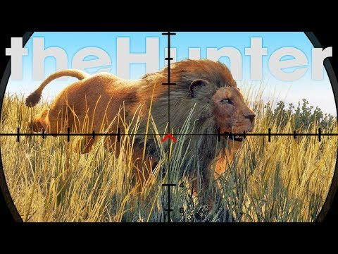 Hunting Lions With A Pistol What Could Go Wrong? - Lion Hunting Update - theHunter Call of the Wild