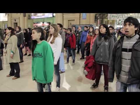 Te quiero // Flash Mob // Coro Del Nacio // Estación Constitución