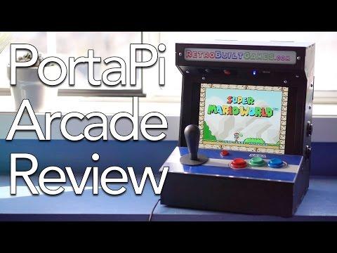 PortaPi Tabletop Arcade Review!