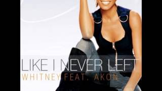 Watch Whitney Houston Like I Never Left featuring Akon video