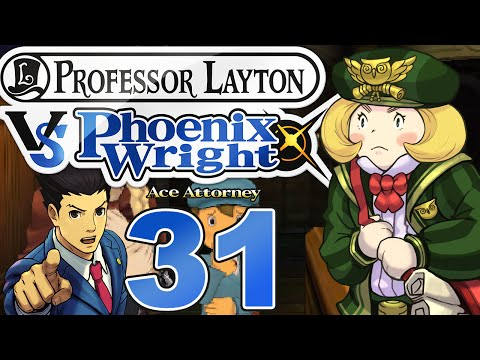 PROFESSOR LAYTON VS. PHOENIX WRIGHT: ACE ATTORNEY #31 - Pia Post möchte aussagen! [HD]