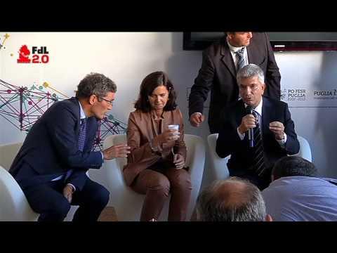 IN DIRETTA SU FDL 2.0 LA VISITA DELLA PRESIDENTE BOLDRINI IN FIERA (20/09/2013)