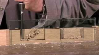 Cutting a Mortise - Mortise chisel vs bevel edge chisel - with Paul Sellers