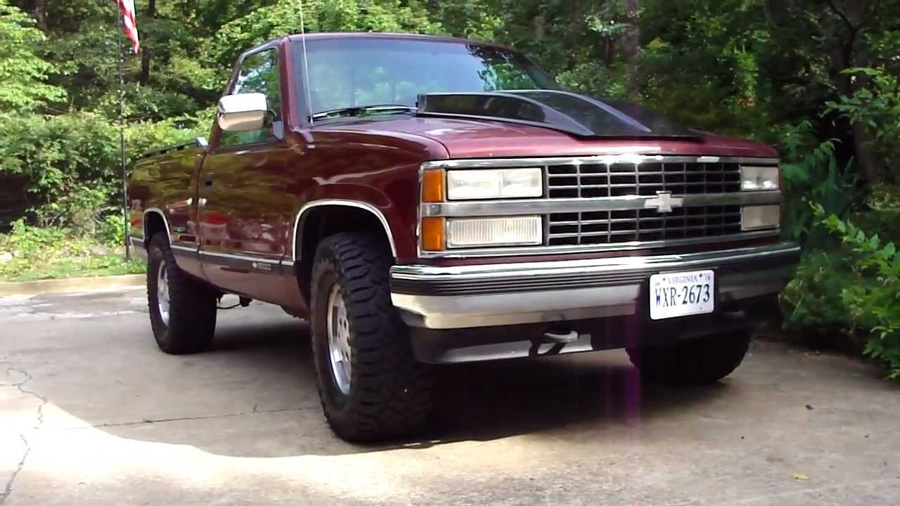 1990 chevy z71 top speed  YouTube