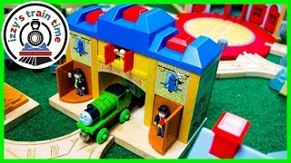 Thomas and Friends ALL ABOARD STATION! Fun Toy Trains for Kids!
