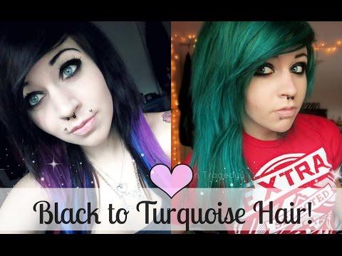 Bleaching/Dying my hair Green :D ... reuploaded