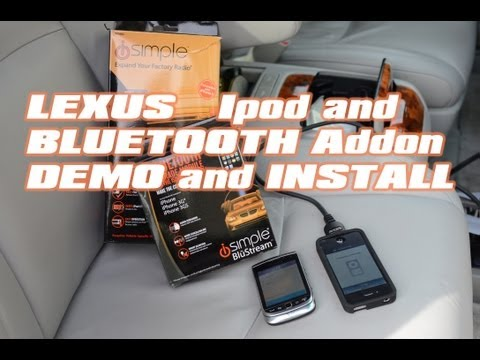 Lexus Rx350 IPOD & BLUETOOTH ISBT21 Module. Isimple PXAMG GATEWAY by AUTOTOYS