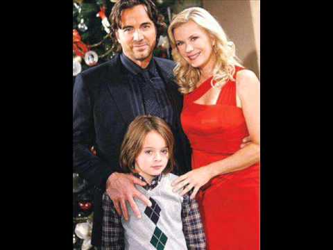 B&B RJ RECAST CHRISTMAS 2013 PIC Bold Beautiful Ridge Brooke Katherine Kelly Lang AMC Zach 12-18-13