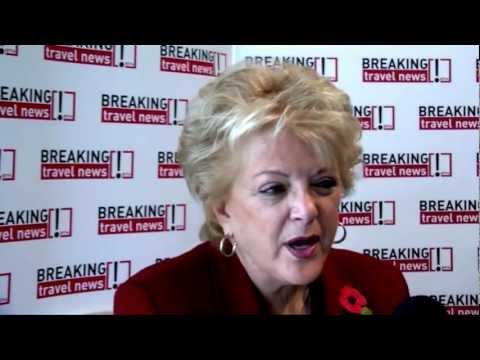 Carolyn G Goodman, mayor of las vegas, Las Vegas @ WTM 2012