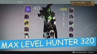 Destiny 320 Light Max Level Hunter The Taken King