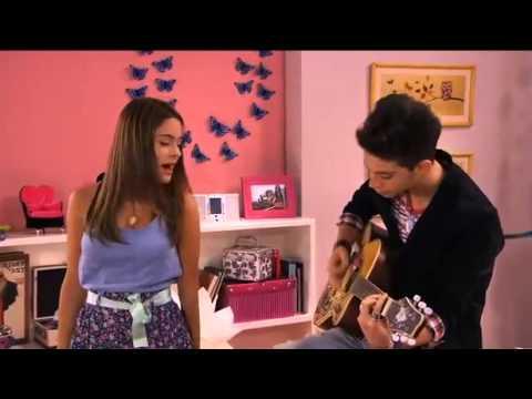 Violetta Federico e Vilu cantano En mi mundo.