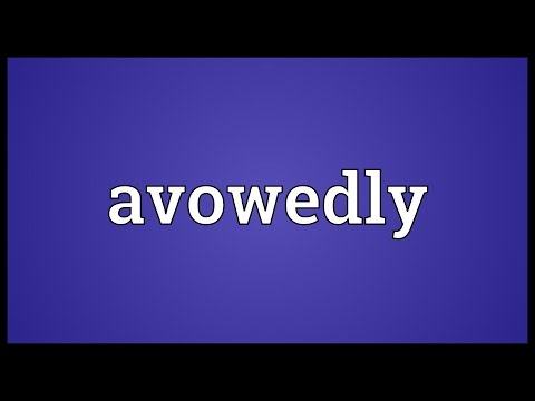 Header of avowedly