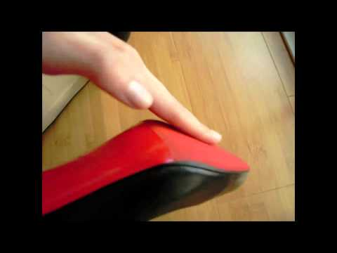 Christian LouBoutin Red Rubber ReSole!
