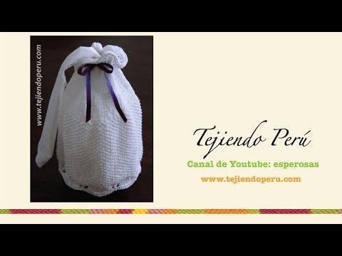 Porta rollo de papel higiénico tejido en dos agujas Music Videos