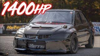 Quickest Evos in the World! - 1400HP Evo 8 and Evo X Record