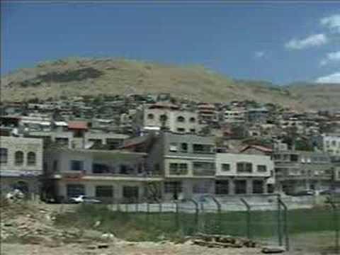The Golan Heights - Israel-Syria peace talks