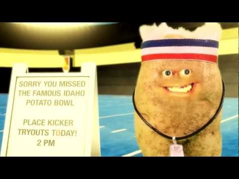 Stunt Tater in the Famous Idaho Potato Bowl
