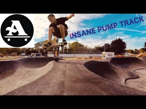 INSANE SKATEBOARD pump track