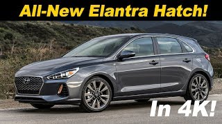 2018 Hyundai Elantra GT Review and Road Test in 4K