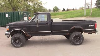 "F150 Rough Country 4"" to 6"" Lift Kit Conversion 1992 Bronco"