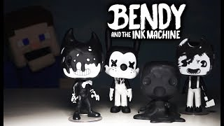 Bendy and the Ink Machine Funko POP Action Figures Series 2 BATIM Chapter 4 Unboxing Puppet Steve