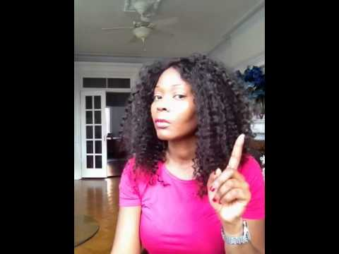 how to take care of a curly wig
