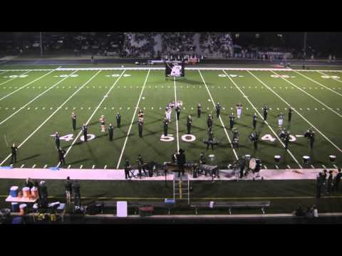 Legacy Christian Academy Bands Perform at Half - 10/11/2014