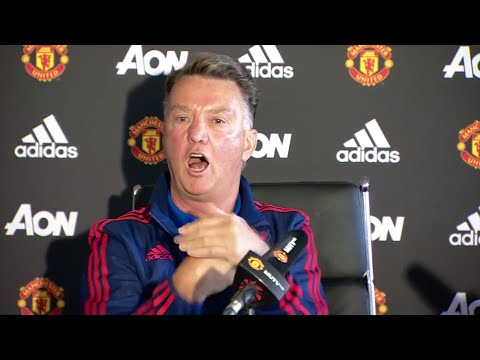 Louis van Gaal Pre Liverpool - 'The Fans Are Shouting Louis van Gaal's Army'! - Hilarious