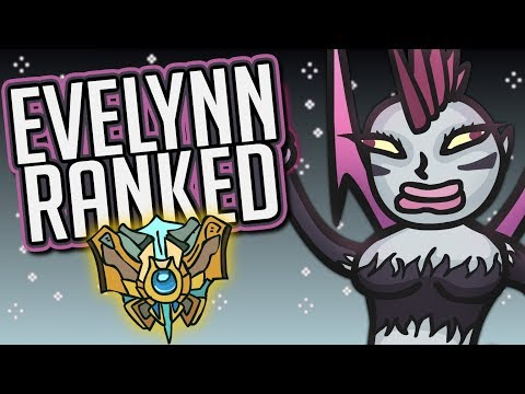 Playing EVELYNN in Ranked League of Legends