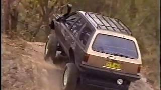 Holden Commodore VH and Toyota Hybrid 4WD 4x4