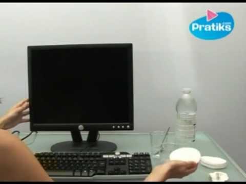 informatique comment nettoyer son cran d 39 ordinateur. Black Bedroom Furniture Sets. Home Design Ideas