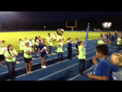 Halstead High School Band Big Blue Night 2014