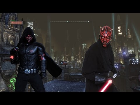 Batman Arkham City Darth Maul Mod