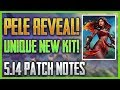 Pele Revealed New Unique Assassin SMITE 5 14 Patch Notes Review mp3