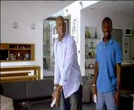 Nintendo wii sports ian wright advert