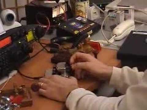 50 WPM Morse Code (CW) with a Begali Scultpure