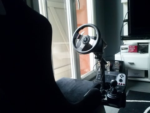 FR : Présentation et test du Logitech G27 et PlaySeat sur Gran Turismo 5 sur PS3
