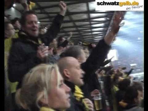 Köln - BVB 1-2 Choreo Stimmung Borussia Dortmund 1. FC Köln