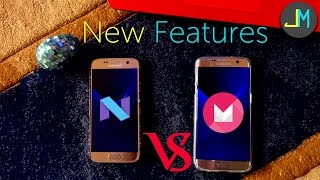 Nougat For Galaxy S7/Edge Overview [Android 7.0 for GS7/Edge Vs Marshmallow 6.0.1]