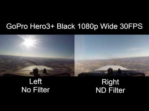 Using ND Filter To Eliminate Propeller Distortion. I'm Using a GoPro Hero 3+ and shooting HD at 1080p 30 FPS. I'm using a 52 mm Neutral Density (ND) filter which slows the shutter speed to...