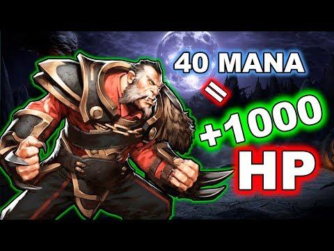 Dota 2 Tricks: + 1000 HP for 40 MANA!