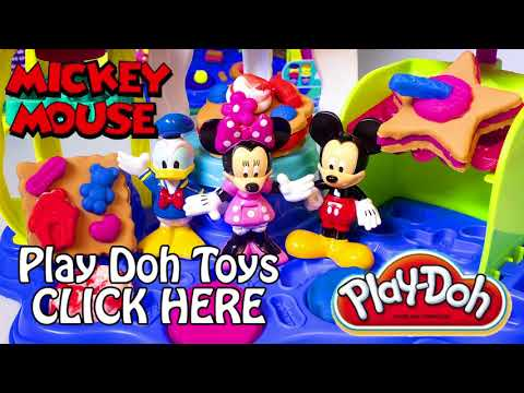 Mickey Mouse Play Doh Sweet Shoppe Frosting Fun Bakery How to Make Playdough Sweet Confections