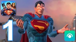 DC Legends - Gameplay Walkthrough Part 1 - Campaign: Chapter 1 (iOS, Android)