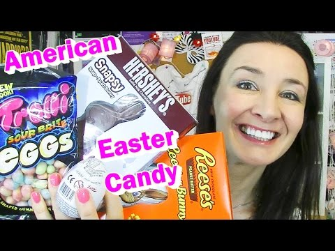 American Easter Candy Taste Test