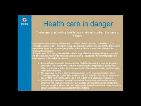Health Care in Danger: Spotlight on Yemen - introduction