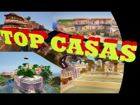 Minecraft ☆ TOP 5 CASAS ☆ 3º Edición | 2013 | + Descarga