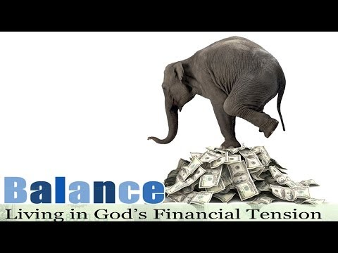 03 09 14 Balance God Doesn't Want Your Money