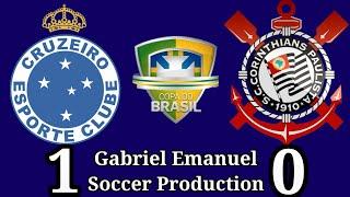 Cruzeiro 1 x 0 Corinthians - 1° jogo da final da Copa do Brasil