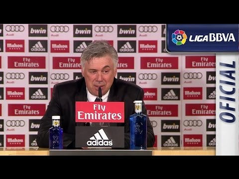 Press Conference Ancelotti after Real Madrid (4-0) Osasuna - HD